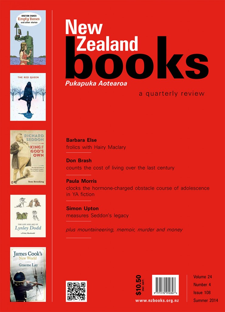 NZBooks Issue 108 cover